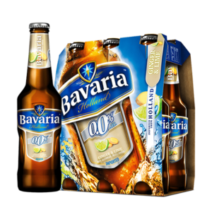 Bavaria Malt Ginger Lime 6 Pack