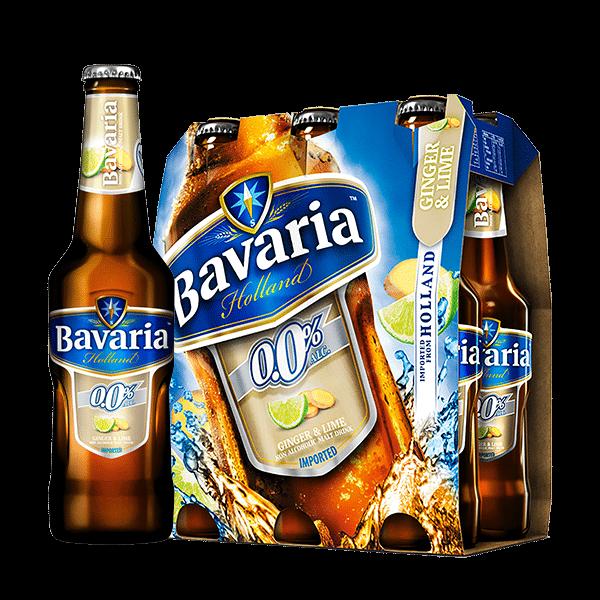 Bavaria Malt Ginger Lime 6 Pack